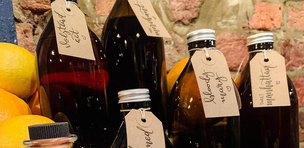 Bottled cocktails from Berry and Rye