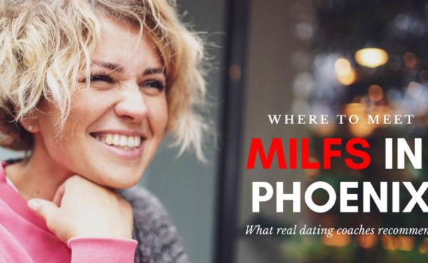 A blonde Phoenix MILF in a sweater
