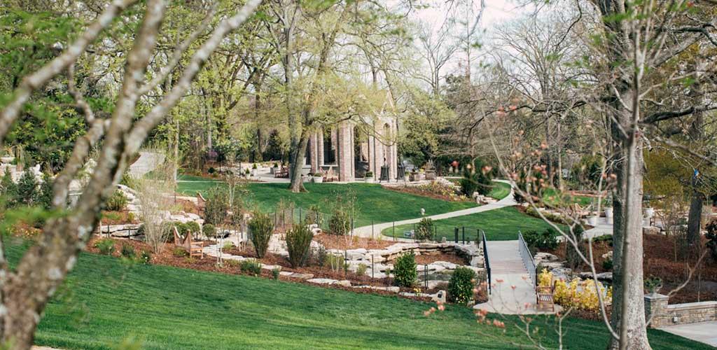 The beautiful Cheekwood Botanical Gardens