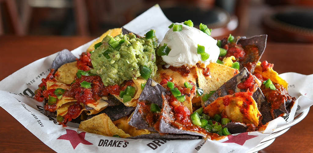 Nachos from Drake's