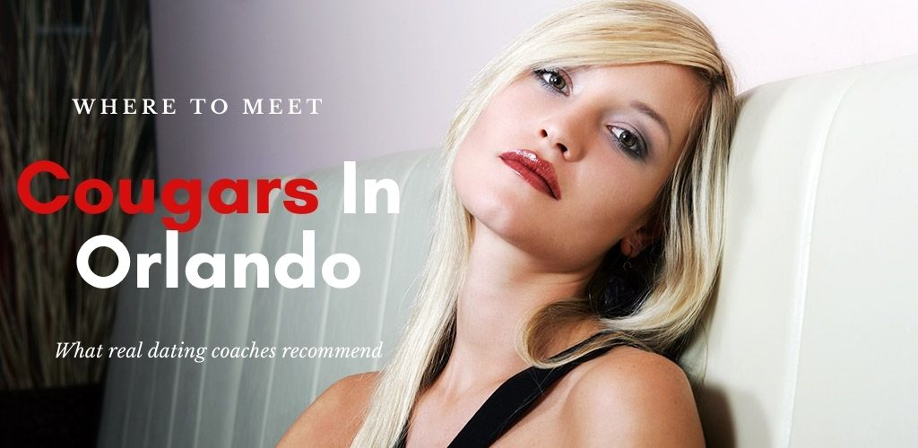 Cougar bars in Orlando are full of beautiful women