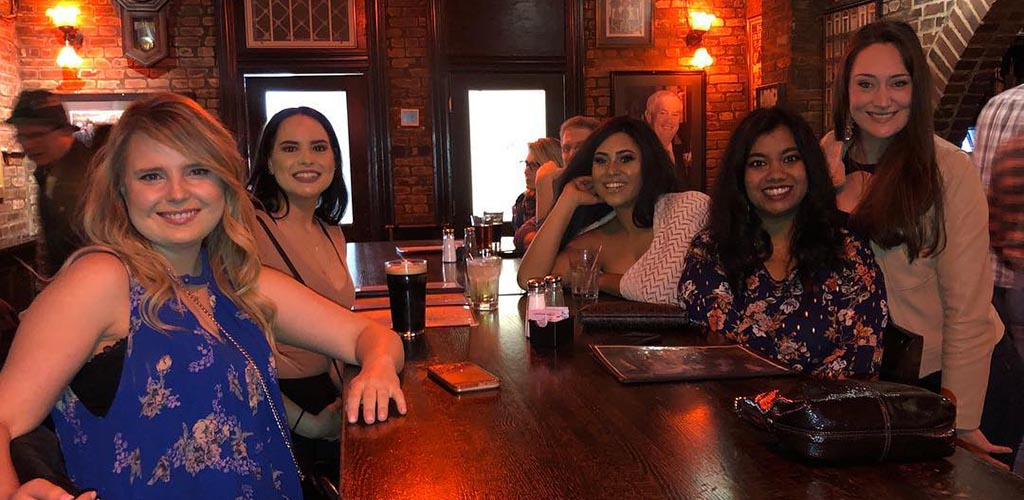 Lovely cougars in Missouri having drinks at John D McGurk's