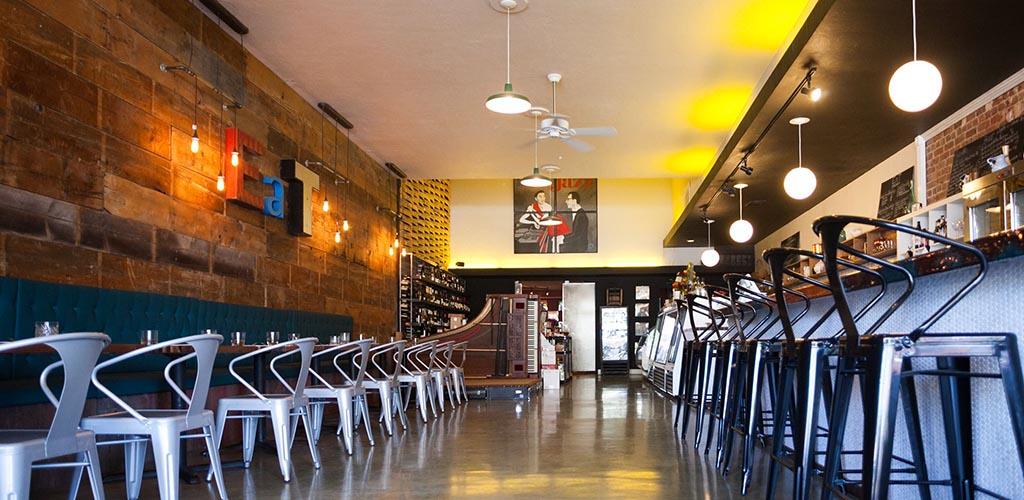 Mile Wine Company interior