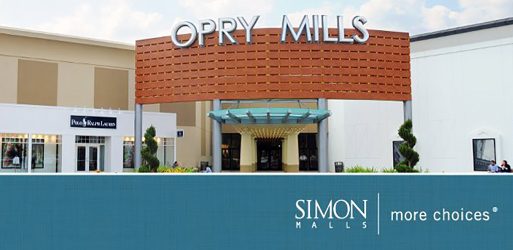 Front of Opry Mills