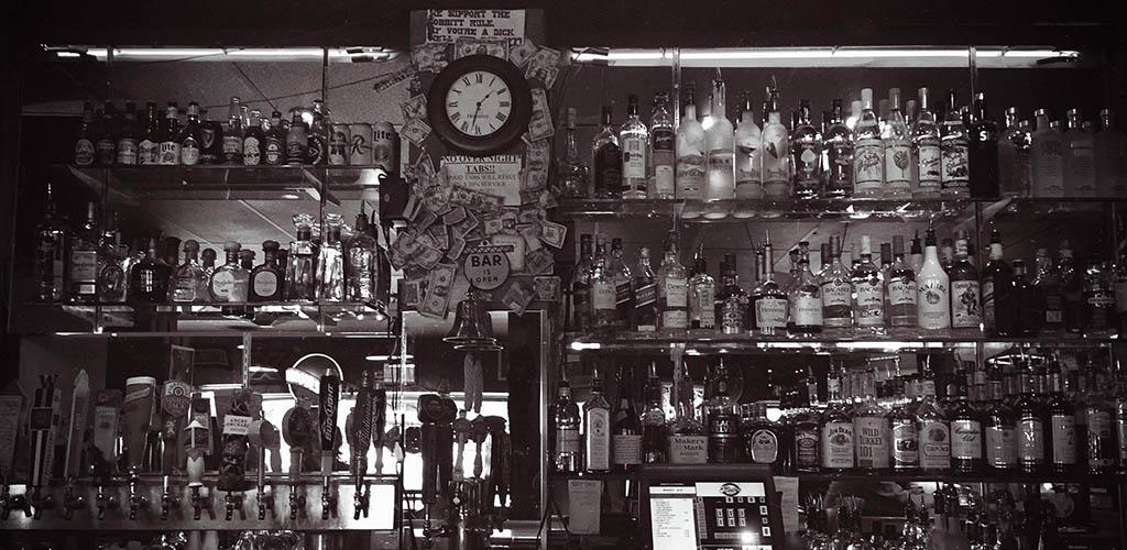 The bar at Palmer's East