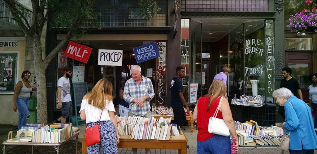 A sale at Scuppernong Books