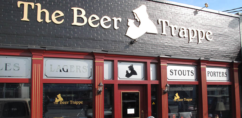 Exterior of The Beer Trappe
