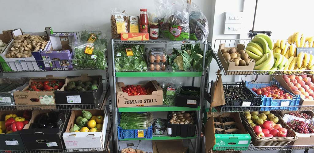 Fresh produce from Windmill Wholefoods