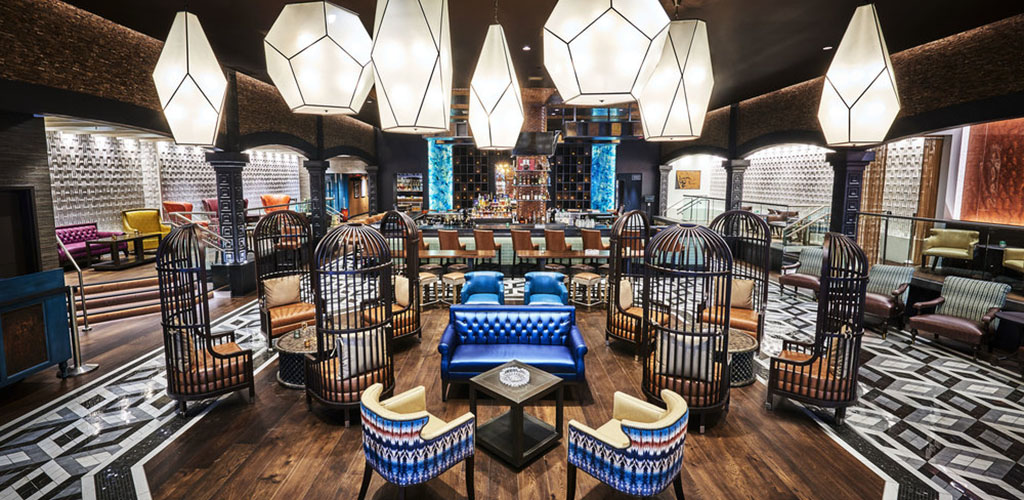 The beautiful interiors of BURN by Rocky Patel