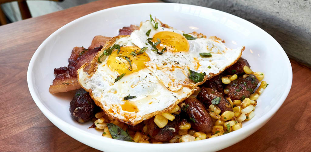 A breakfast bowl from Cafe Linnea