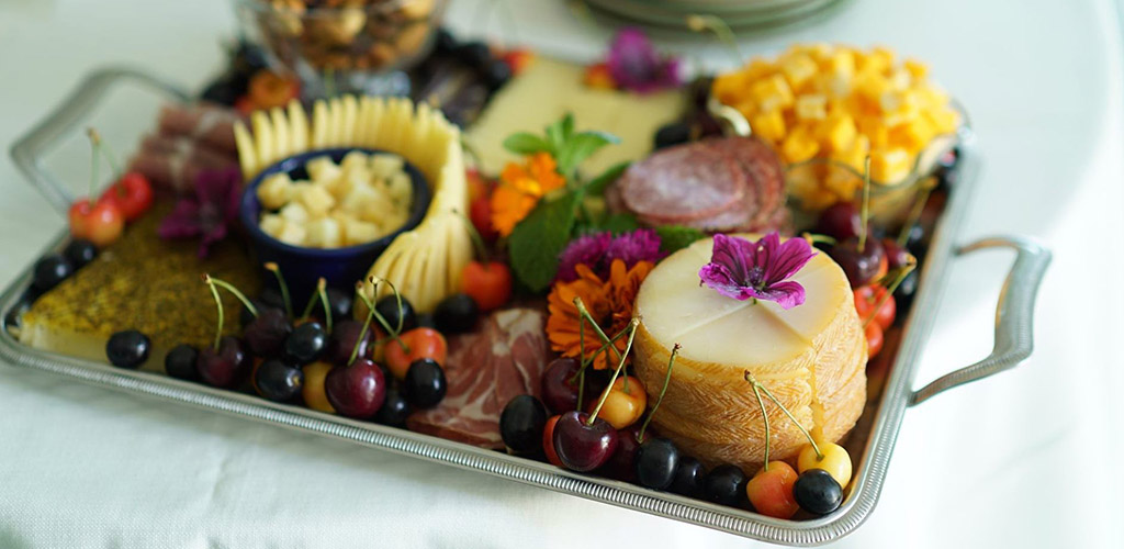 A charcuterie board from Coho