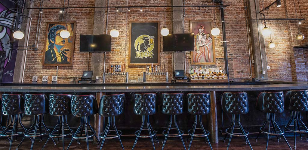 The beautiful bar of HopCat