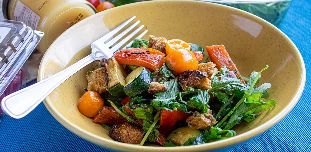A salad from Community Natural Foods