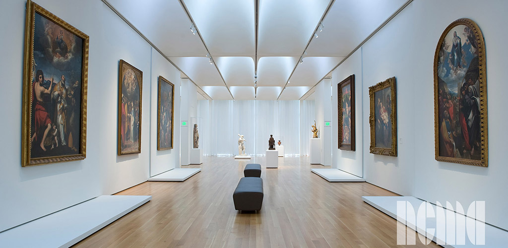 Various beautiful artworks on display at North Carolina Art Museum
