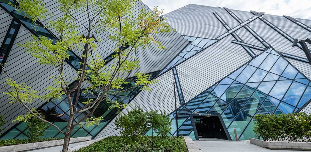 Exterior of the Royal Ontario Museum