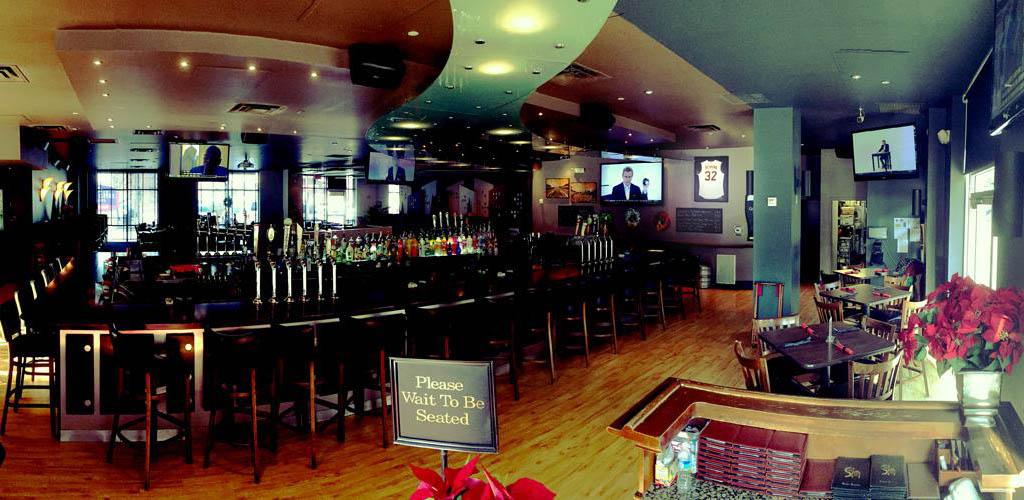 The bar at Soho