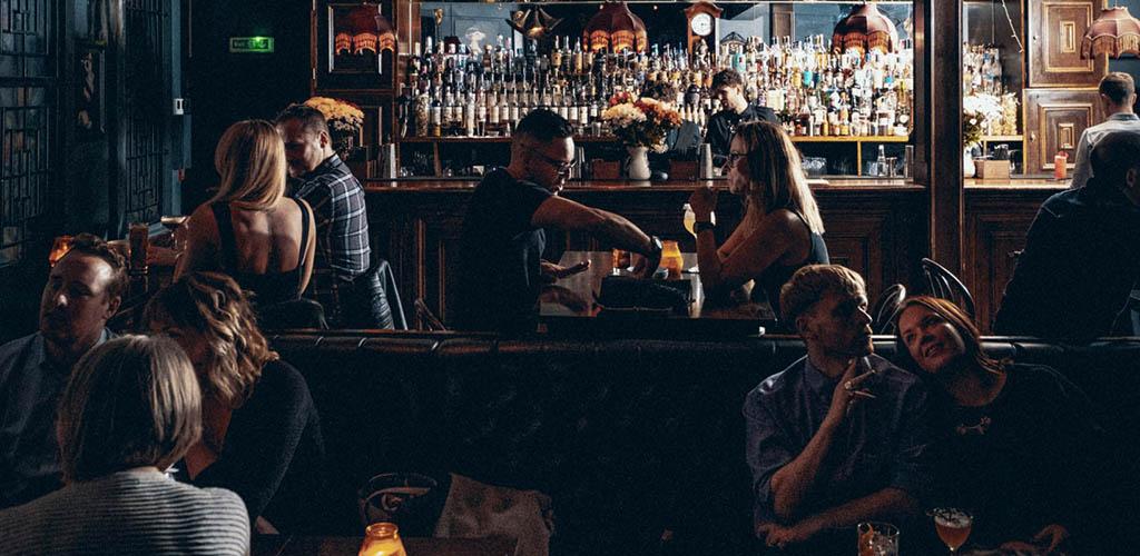 Leeds MILFs enjoying drinks at The Maven Bar