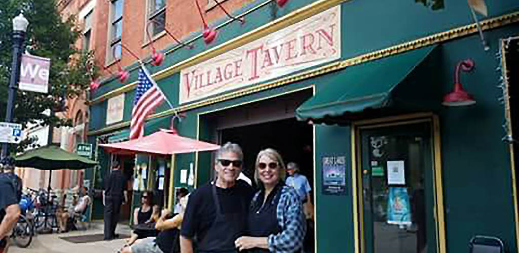 In front of Village Tavern