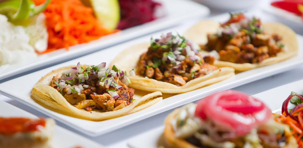 Soft tacos from Su Casa