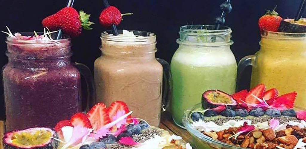 Smoothies and quinoa bowls from The Health Hut
