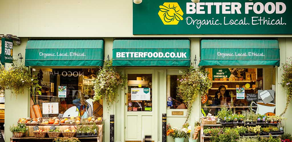 Exterior of Better Food