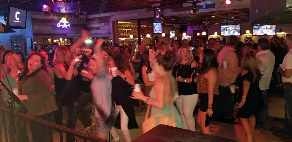 The dancle floor at Cadillac Cafe
