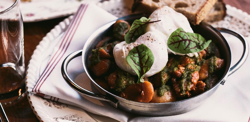 A brunch dish from Pourhouse