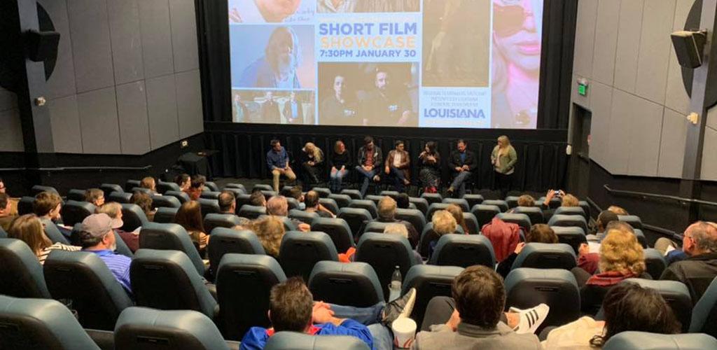 A seminar at Robinson Film Center