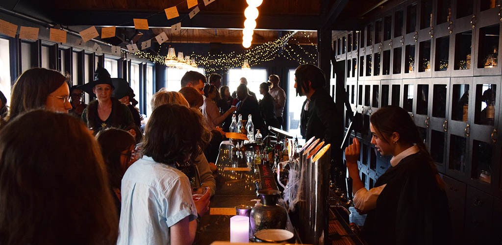 A busy afternoon at Foxglove Bar