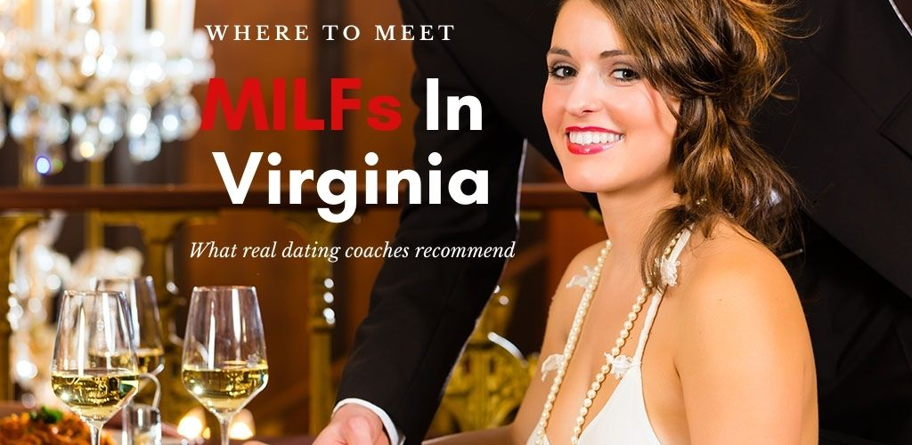 A Virginia MILF on a dinner date and a waiter serving drinks