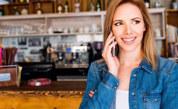 single Indiana MILF talking on phone