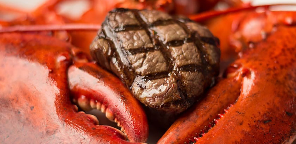 Seafood and steak from Splash Seafood