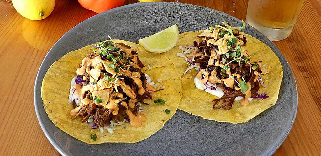 Tacos from The Brook Bar and Kitchen