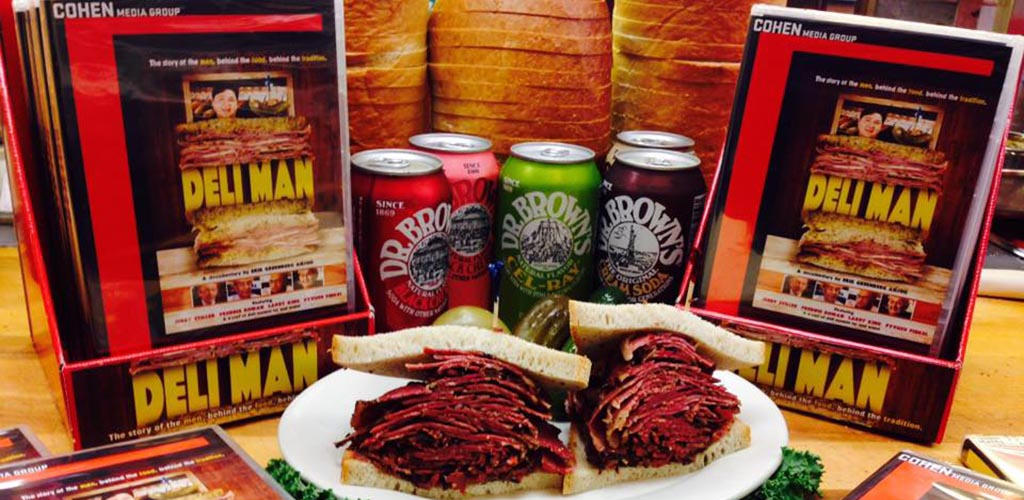 Beers and huge deli sandwiches at Hobby's Delicatessen and Restaurant