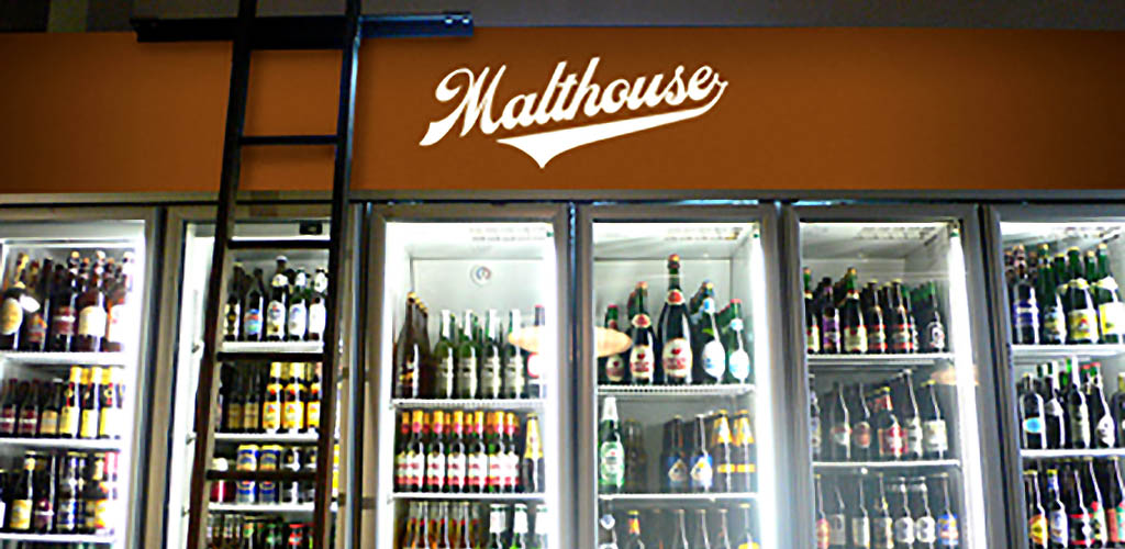 A variety of beers from The Malthouse