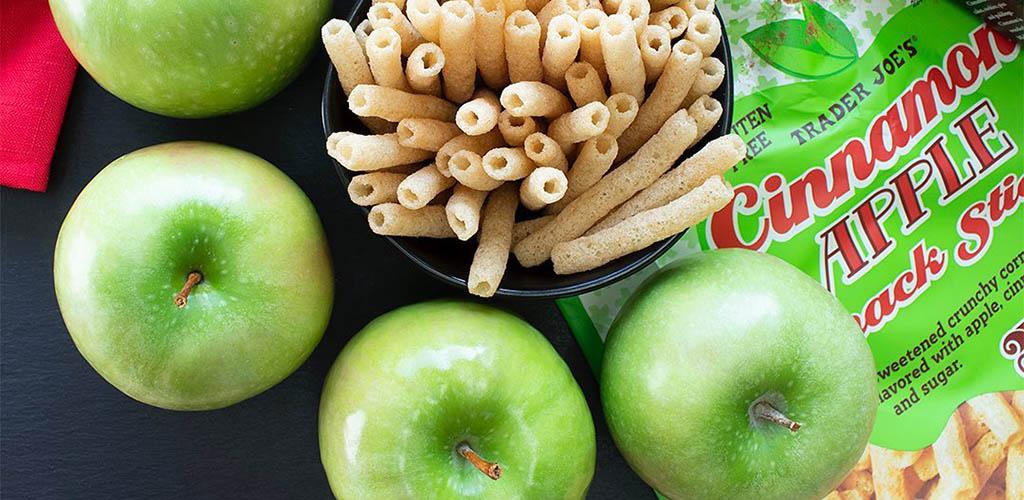 Apple snacks from Trader Joe's