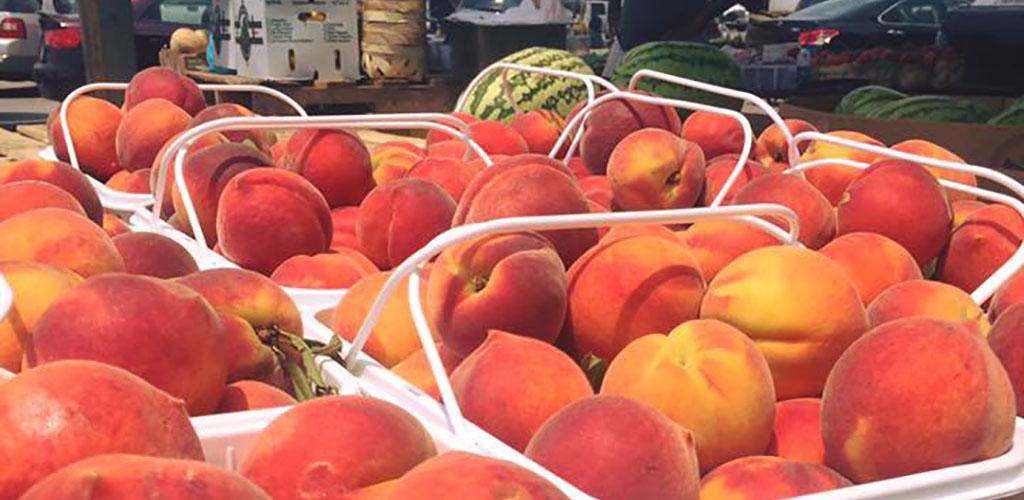 Fresh fruit from Alabama Farmers Market