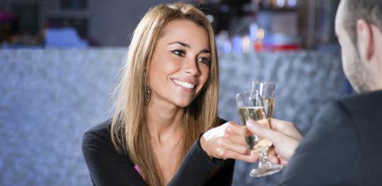 Beautiful Attractive Connecticut MILF enjoying champagne