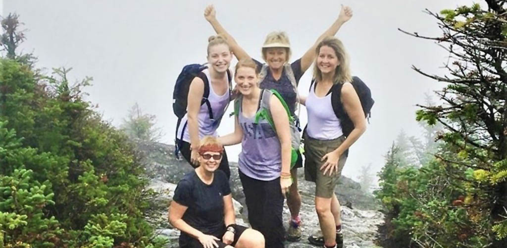 Vermont MILFs at the summit in New Life Hiking Spa