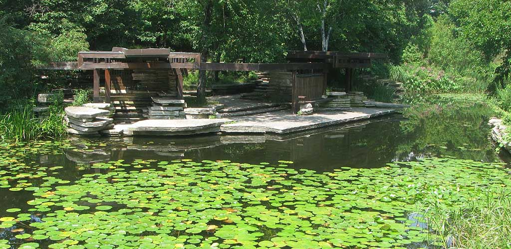 The pond at Lincoln Park