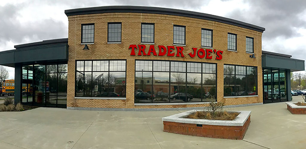 Exterior of Trader Joe's in Vermont
