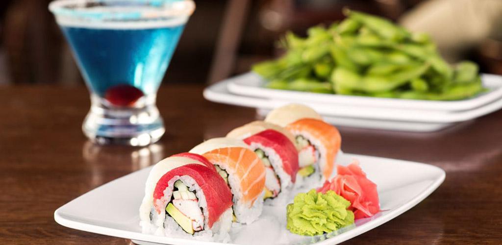 Fresh sushi from Drake's