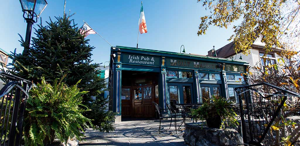 Molly Malone's Irish Pub in the daytime
