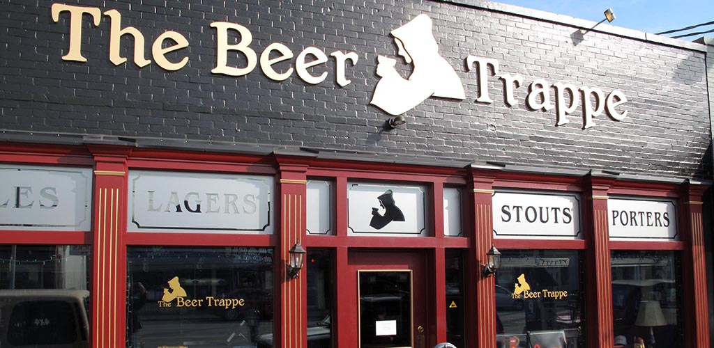 The front of Beer Trappe
