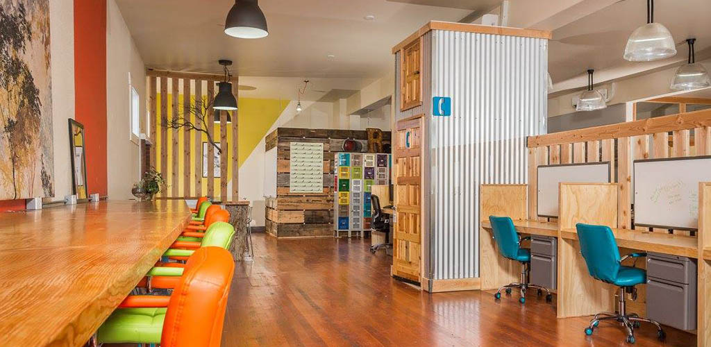 Inside Gaucho Collective Coworking Space