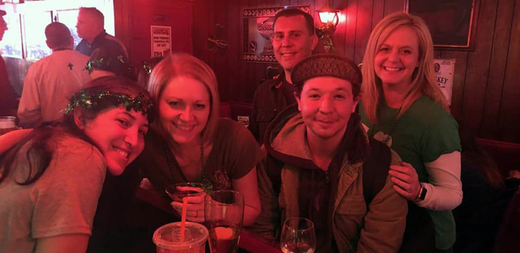 Cougars in Pennsylvania meeting new people at Oscar's Tavern