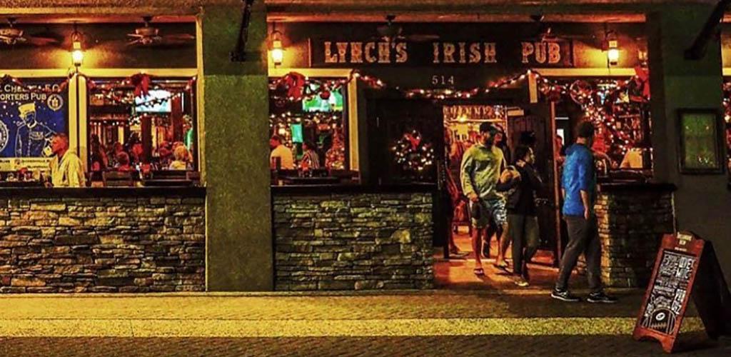 Exterior of Lynch's Irish Pub