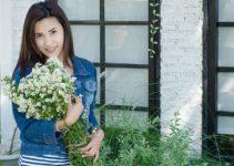Flowers and a Thai MILF