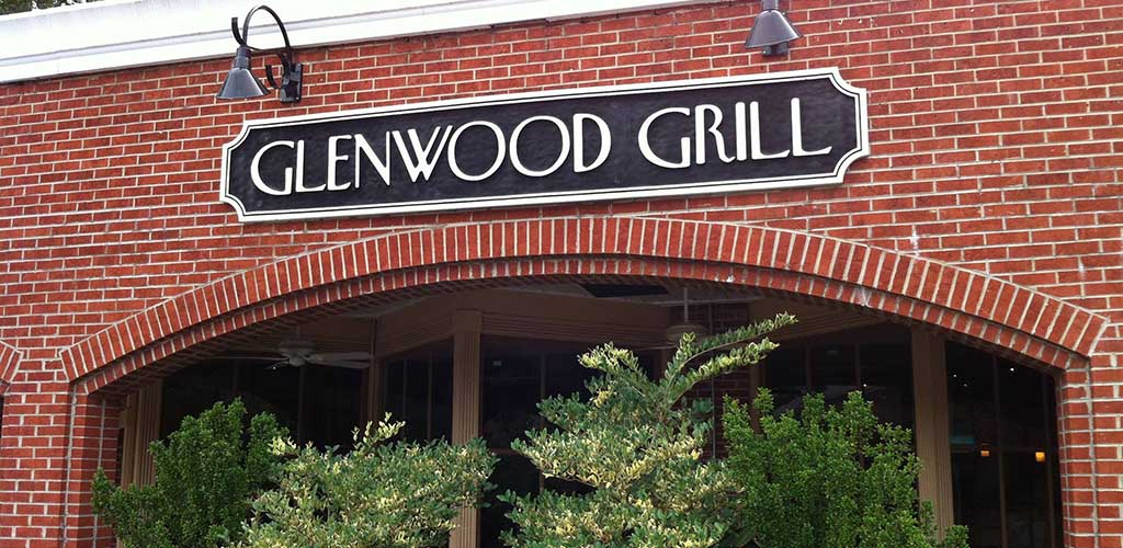 Glenwood Grill signage in the daytime