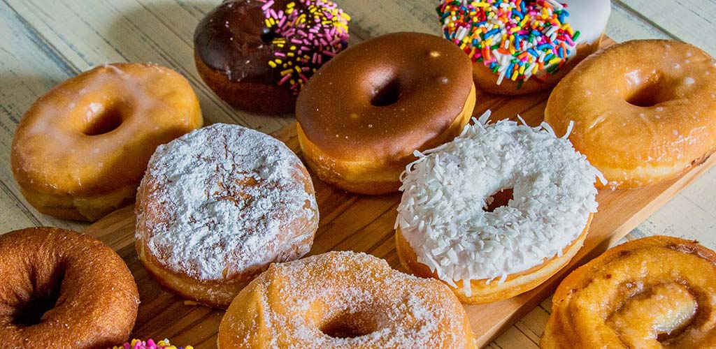 Delicious donuts from Giant Eagle Market District